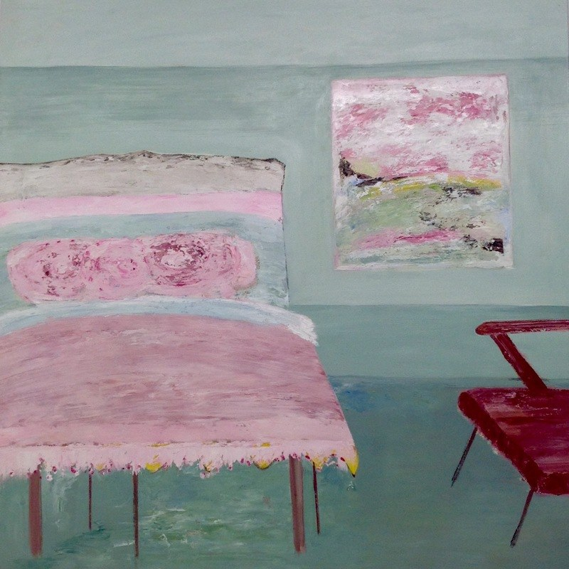 Three in a Bed / 120 x 120cm / Oil on Canvas